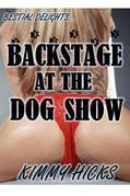 Backstage at the Dog Show