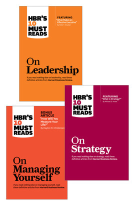 The HBR?s 10 Must Reads Leader?s Collection (3 Books) (HBR?s 10 Must Reads)