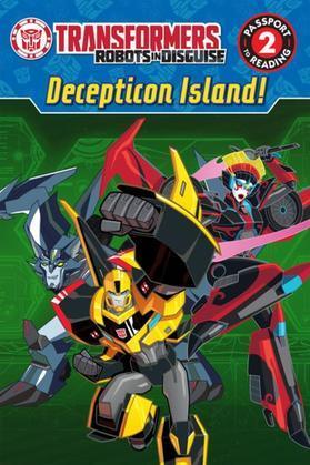 Transformers Robots in Disguise: Decepticon Island!
