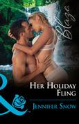 Her Holiday Fling (Mills & Boon Blaze) (Wild Wedding Nights, Book 4)