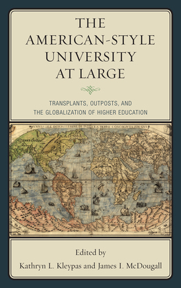 The American-Style University at Large