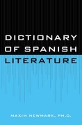 Dictionary of Spanish Literature