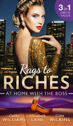 Rags To Riches: At Home With The Boss: The Secret Sinclair / The Nanny's Secret / A Home for the M.D. (Mills & Boon M&B)