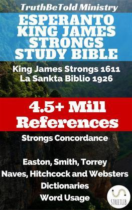 Esperanto King James Strongs Study Bible