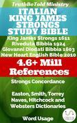 Italian King James Strongs Study Bible