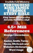 Portuguese King James Strongs Study Bible