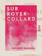 Sur Royer-Collard