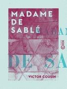 Madame de Sablé
