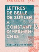 Lettres de Belle de Zuylen à Constant d'Hermenches