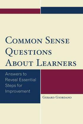 Common Sense Questions About Learners