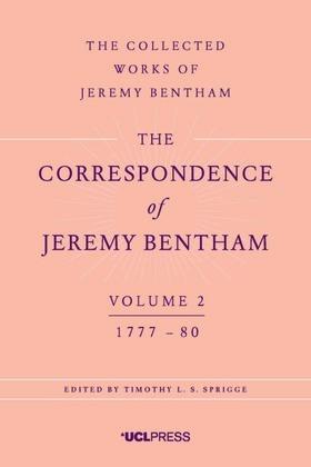 The Correspondence of Jeremy Bentham, Volume 2