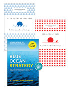 "Blue Ocean Strategy with Harvard Business Review Classic Articles ""Blue Ocean Leadership"" and ""Red Ocean Traps"" (3 Books)"
