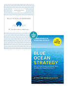 "Blue Ocean Strategy with Harvard Business Review Classic Article ""Blue Ocean Leadership"" (2 Books)"