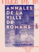 Annales de la ville de Romans