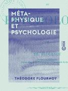 Métaphysique et Psychologie