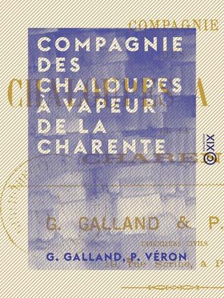 Compagnie des chaloupes à vapeur de la Charente