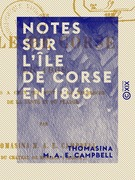 Notes sur l'île de Corse en 1868