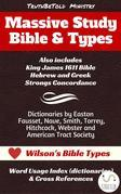 Massive Study Bible & Types