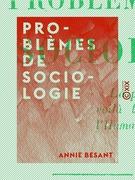 Problèmes de sociologie