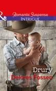 Drury (Mills & Boon Intrigue) (The Lawmen of Silver Creek Ranch, Book 11)