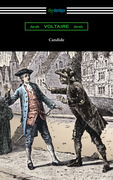Candide (Illustrated by Adrien Moreau with Introductions by Philip Littell and J. M. Wheeler)