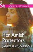 Her Amish Protectors (Mills & Boon Superromance)