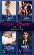 Modern Romance June 2017 Books 5 - 8: Her Sinful Secret / The Drakon Baby Bargain / Xenakis's Convenient Bride / The Greek's Pleasurable Revenge (Mills & Boon e-Book Collections)