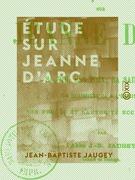 Étude sur Jeanne d'Arc