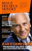 Revue des Deux Mondes juillet août 2017