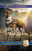 Special Agent (Mills & Boon Love Inspired Suspense) (Classified K-9 Unit, Book 3)