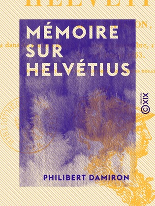 Mémoire sur Helvétius