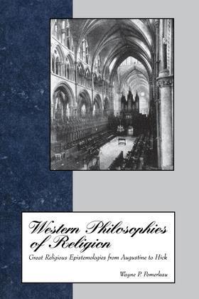 Western Philosophies Religion