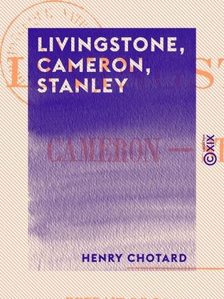 Livingstone, Cameron, Stanley