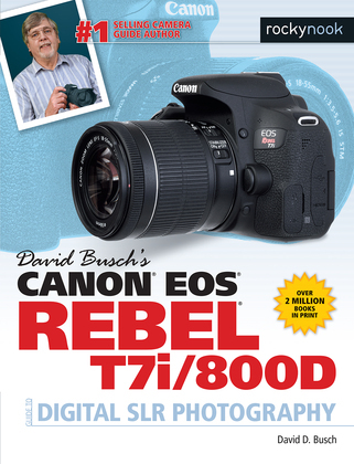 David Busch's Canon EOS Rebel T7i/800D Guide to Digital SLR Photography