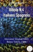 Bibbia N.4 Italiano Spagnolo