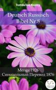 Deutsch Russisch Bibel Nr.8