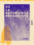 De la République réformiste
