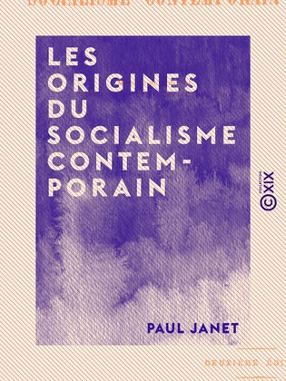 Les Origines du socialisme contemporain