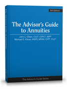 Advisor's Guide to Annuities, 5th Edition