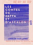 Les Comtes de Jaffa et d'Ascalon