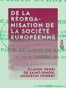 De la réorganisation de la société européenne