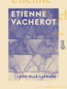 Etienne Vacherot 1809-1897
