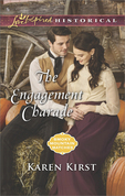 The Engagement Charade (Mills & Boon Love Inspired Historical) (Smoky Mountain Matches, Book 11)