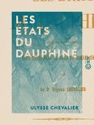 Les États du Dauphiné