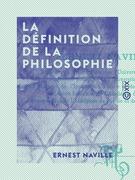 La Définition de la philosophie
