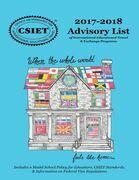 2017-2018 Advisory List: Of International Educational Travel & Exchange Programs