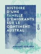 Histoire d'une famille d'émigrants sur le continent austral - L 'Alsace-Lorraine en Australie