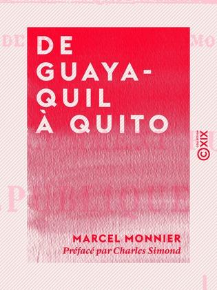 De Guayaquil à Quito