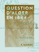 Question d'Alger en 1844