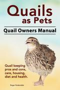 Quails as Pets. Quail Owners Manual. Quail keeping pros and cons, care, housing, diet and health.